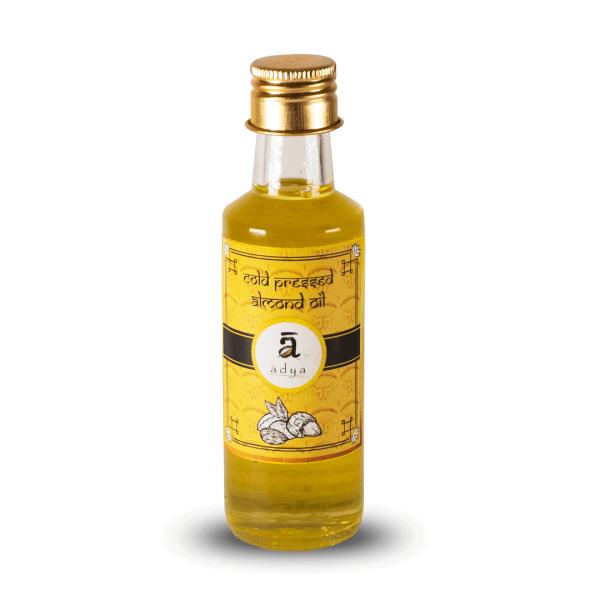 Almond oil _new bottle