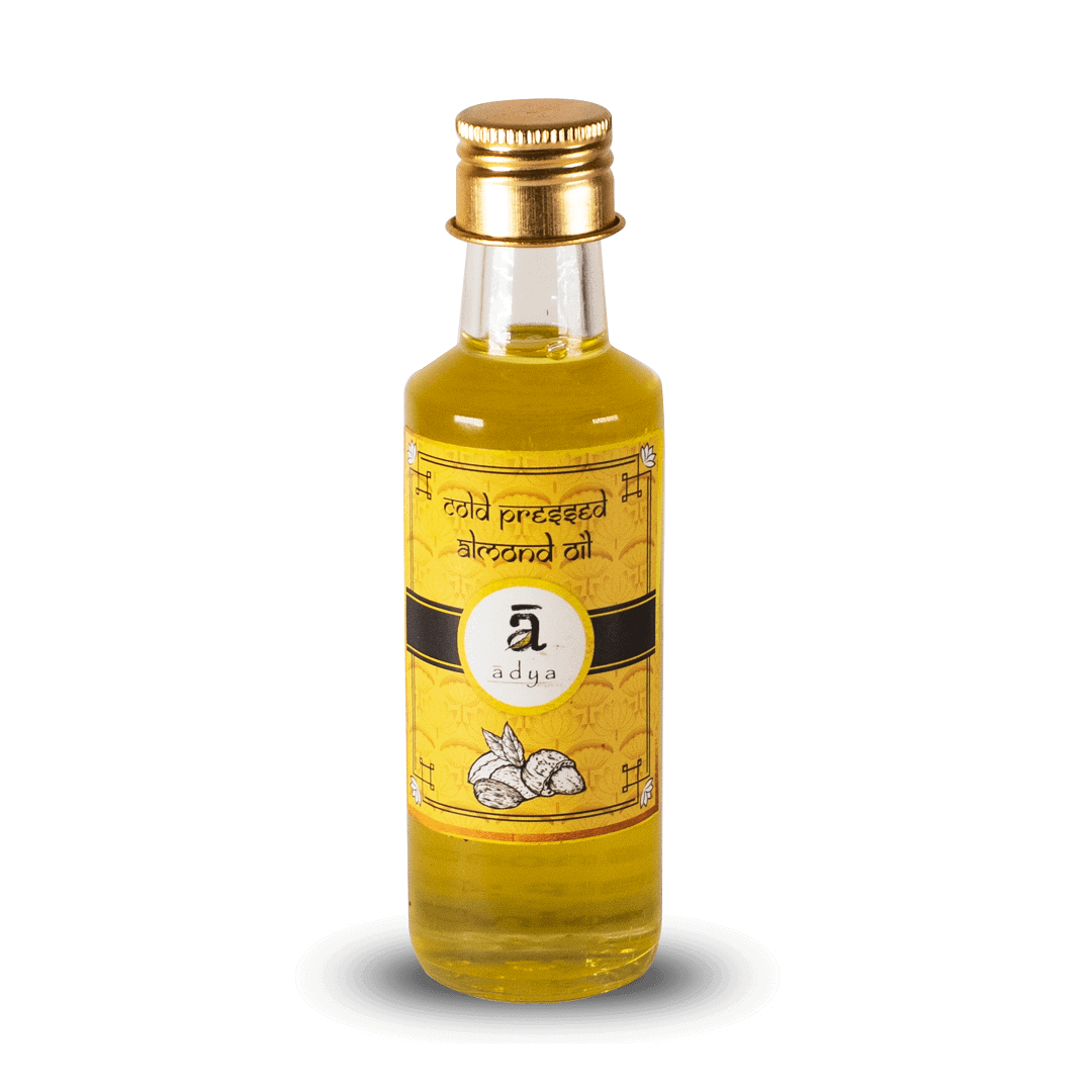 Almond oil _new bottle