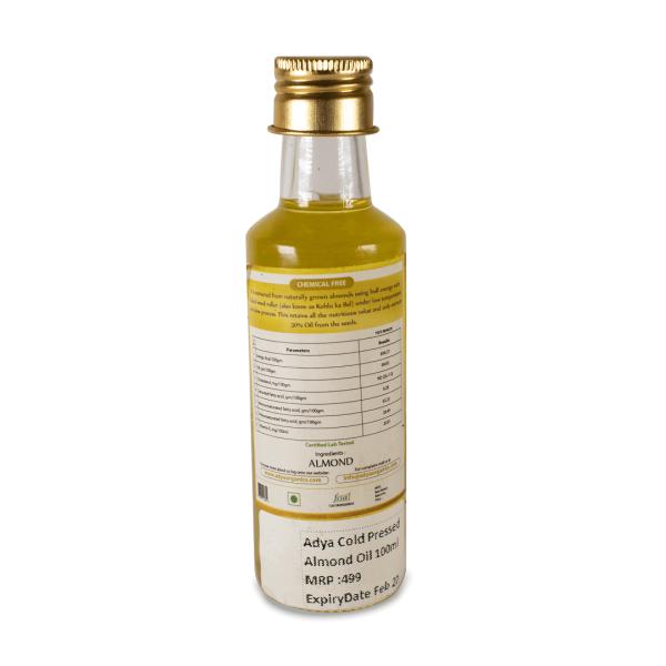 Almond oil _new bottle_back