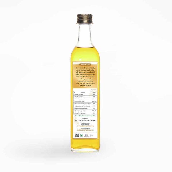 Mustard Oil back