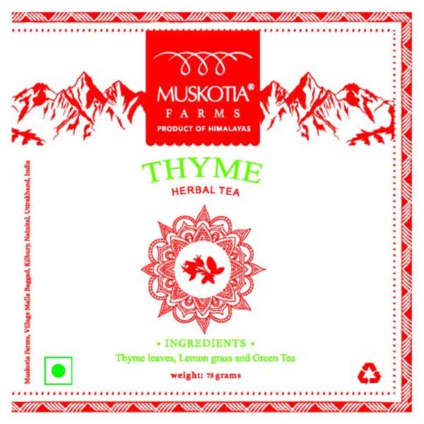 Thyme Herbal